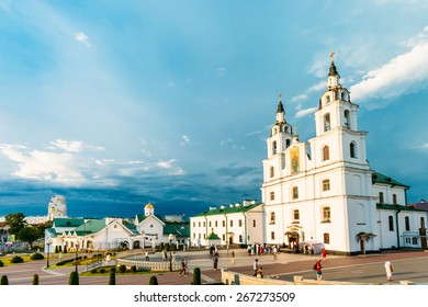 The Cathedral Of Holy Spirit In Minsk - The Main Orthodox Church Of Belarus