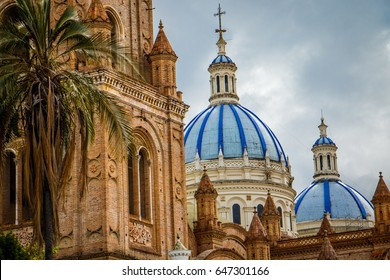 The Cathedral of the Immaculate Conception in Cuenca, Ecuador