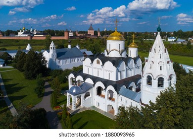 The Cathedral of the intercession in Suzdal, Golden ring of Russia.