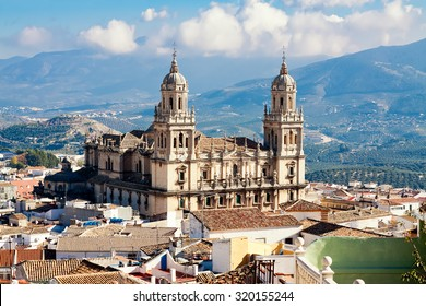 Cathedral in Jaen. Andalusia, Spain