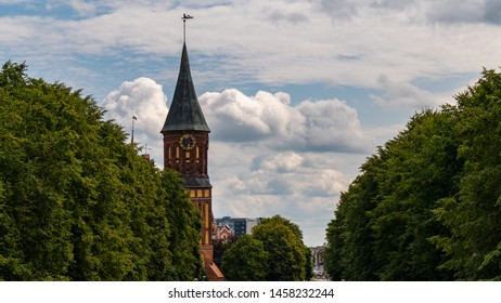 Cathedral in Kaliningrad on the island of Kant