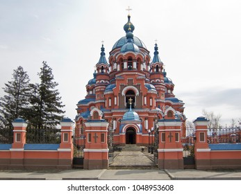 Cathedral of the Kazan Icon of the Mother of God (1885–1892) in Irkutsk, Russia