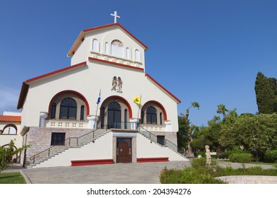 The Cathedral of Kos island in Greece