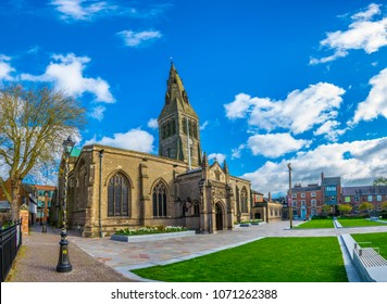 Cathedral in Leicester, England