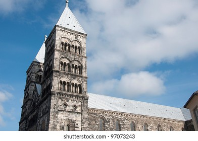 cathedral in Lund, Sweden