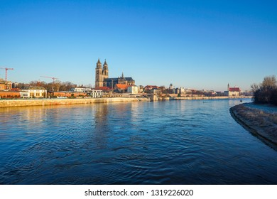 Cathedral of Magdeburg in Saxony Anhalt, Germany