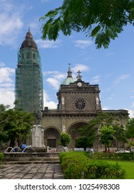Cathedral of Manila in Intramuros - historical district of Manila