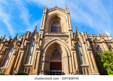 Cathedral of Maria Inmaculada de Vitoria is a roman catholic cathedral located in Vitoria-Gasteiz, Basque country, Spain