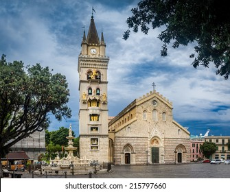 The cathedral of Messina. Sicily, Italy