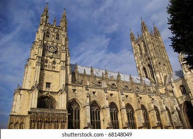 Cathedral and Metropolitan Church of Christ at Canterbury - Mother Church of the Anglican Communion and seat of the Archbishop of Canterbury