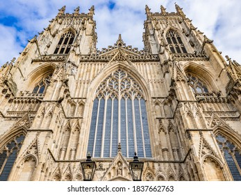 Cathedral and Metropolitical Church of Saint Peter in York, North Yorkshire, England, UK,  commonly known as York Minster.