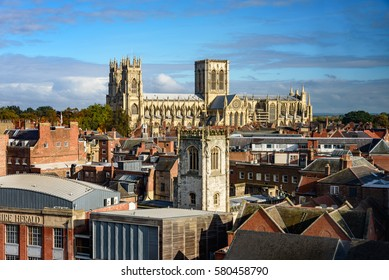 The Cathedral and Metropolitical Church of Saint Peter in York, commonly known as York Minster in England.