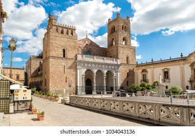 The Cathedral of Monreale, is one of the greatest extent examples of Norman architecture, Sicily, Italy