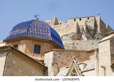 Cathedral in Morella Castellon province Spain