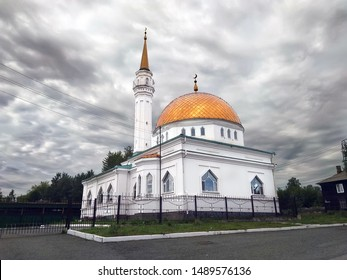 Cathedral mosque in the city of Serov. Russian Federation