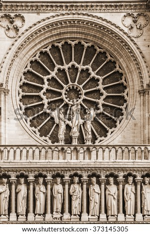 Cathedral Notre Dame De Paris Most Stock Photo Edit Now