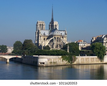 Cathedral Notre-Dame in Paris in the morning light