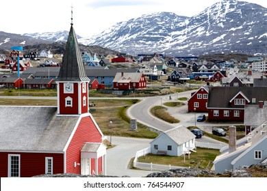 The cathedral in Nuuk - capital of Greenland.