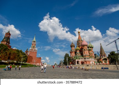 Cathedral on the Red Square in Moscow