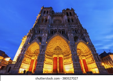 Cathedral of Our Lady of Amiens. Amiens, Nord-Pas-de-Calais-Picardy, France.