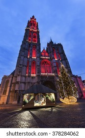 Cathedral of Our Lady in Antwerp. Antwerp,  Flemish Region, Belgium