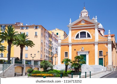Cathedral of Our Lady of the Assumption. Ajaccio, Corsica, France