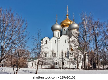 Cathedral of Our Lady of Smolensk (16 th century). Novodevichy Convent is probably the best-known cloister of Moscow.