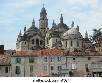 The cathedral of Perigueux, France.