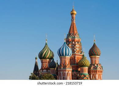 Cathedral of the Protection of Most Holy Theotokos on the Moat (Saint Basil's Cathedral), Red Square, Moscow, Russia