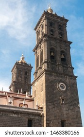 Cathedral of Puebla de Zaragoza, Puebla State, Mexico