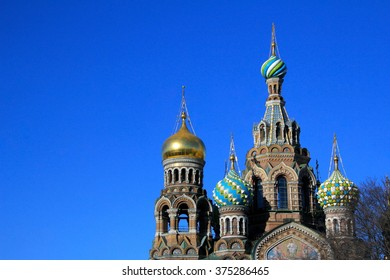 Cathedral of the Resurrection on Spilled Blood in St. Petersburg, architecture, landmark