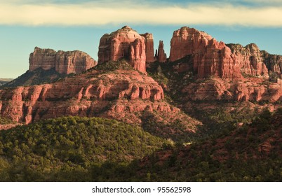 Cathedral Rock in Sedona, Arizona and  Red Rock State Park.