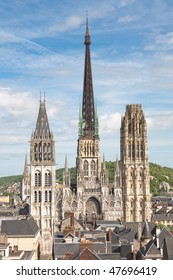 Cathedral of Rouen in France