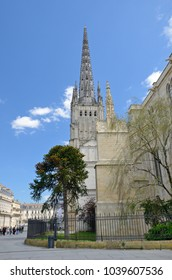 The cathedral of Saint Andrew is in the square La Place Pey-Berland.