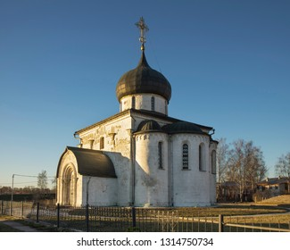 Cathedral of Saint George in Yuryev-Polsky. Vladimir oblast. Russia