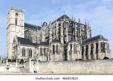 Cathedral Saint Julien in Le Mans, France