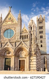 Cathedral of Saint Mary of the Assumption in Siena, Tuscany, Italy.