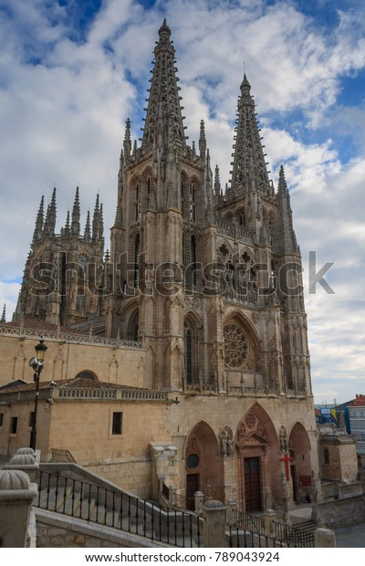Cathedral Saint Mary Burgos One Most Stock Photo (Edit Now