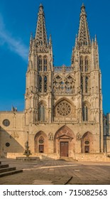 The Cathedral of Saint Mary of Burgos (Santa Maria de Burgos), Burgos, a UNESCO World Heritage site on the Way of Saint James (Camino de Santiago), Castilla y Leon, Spain
