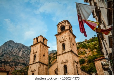 The Cathedral of Saint Tryphon in Kotor, Montenegro