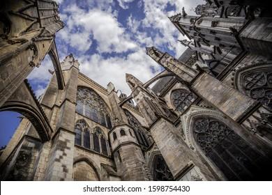Cathedral of saint-Gatien in Tours, Centre-Val de Loire, France