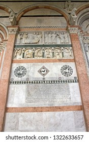 Cathedral Saint-Martin of Lucca, detail (Lucca Tuscany Italy)