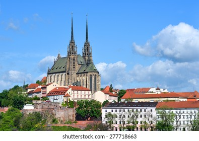 Cathedral of Saints Peter and Paul in Brno in the Czech Republic