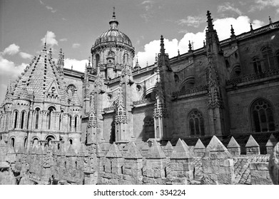 cathedral in Salamanca, Spain