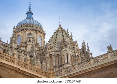 The Cathedral of Salamanca, Spain.