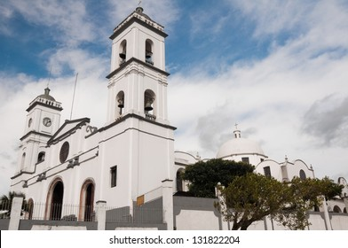 Cathedral of San Andres Tuxtla, main church The Tuxtlas region (Mexico)