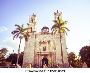 Cathedral of San Gervasio - Valladolid, Yucatan Mexico
