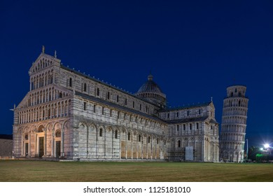 Cathedral of Santa Maria Assunta cathedral, leaning tower, bell tower, Piazza del Duomo, Province of Pisa, Tuscany, Italy, Europe