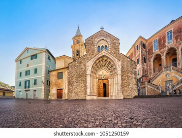 Cathedral of Santa Maria Assunta in Ventimiglia, Liguria, Italy