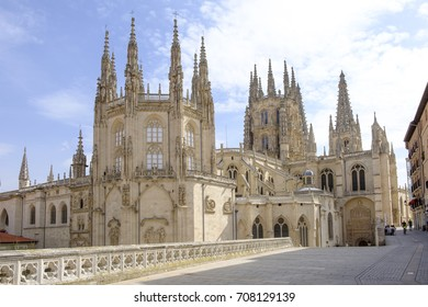 Cathedral of Santa Maria in Burgos, Spain.